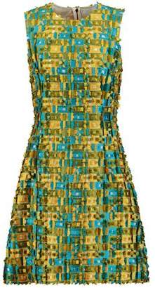 Dolce & Gabbana Fil Coupé Jacquard Dress