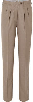 Giuliva Heritage Collection - Husband Wool-blend Tapered Pants - Sand