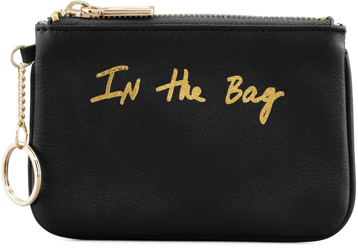 Rebecca Minkoff Cory In-the-Bag Zip Pouch, Black