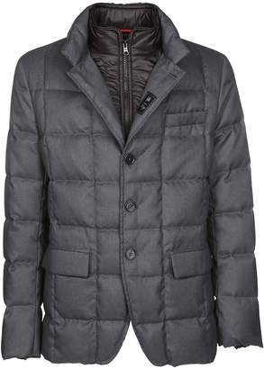 Fay Buttoned-up Padded Jacket