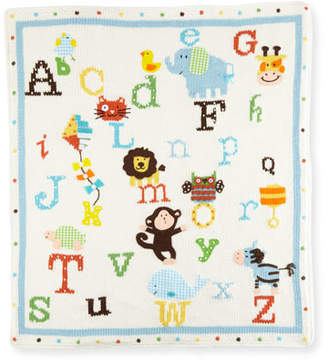 Artwalk Art Walk Alphabet Soup Knit Blanket