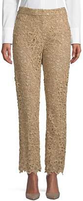 Valentino Women's Floral Lace Pants