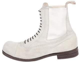 Number Nine Number (N)ine Suede Chelsea Boots