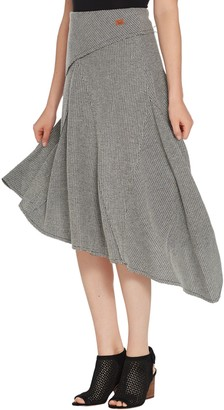 Peace Love World Knit Midi Skirt