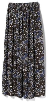 Demi-Luxe BEAMS (デミルクス ビームス) - デミルクスビームス 【CLASSY.6月号掲載】Demi−Luxe BEAMS / フラワープリント ロングスカート