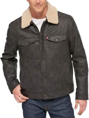 Levi's Levis Big & Tall Sherpa-Collar Trucker Jacket