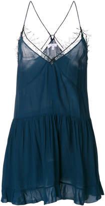 IRO lace inserts cami tunic