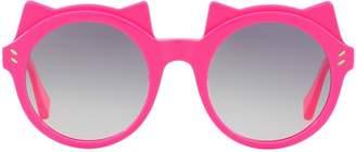 Stella McCartney Round Cat Sunglasses