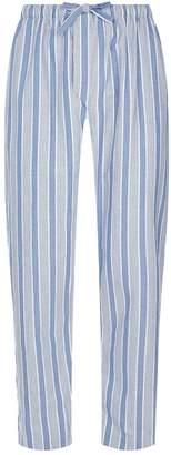 Derek Rose Brushed Cotton Striped Pyjama Trousers