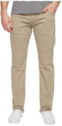 Mavi Jeans Zach Regular Rise Straight Leg in Beige Twill Men's Jeans