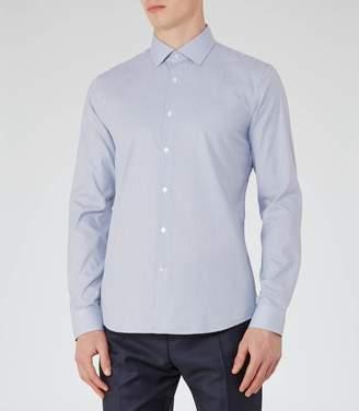 Reiss Mattusi Houndstooth Check Shirt