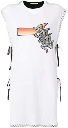 Marco De Vincenzo printed sleeveless top