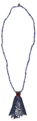 Mikia Bandana Pendant Necklace