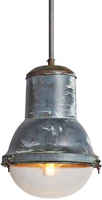Rejuvenation Extra Large Copper Industrial Pendant by Holophane