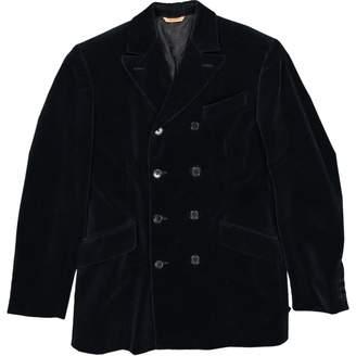 Romeo Gigli Blue Velvet Jackets