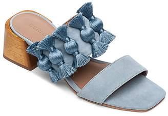 Bernardo Women's Bella Tassel Block-Heel Sandals