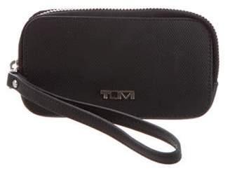 Tumi Leather Wristlet Wallet Black Leather Wristlet Wallet