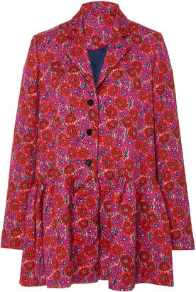 Lela Rose Wave Flounce Jacket