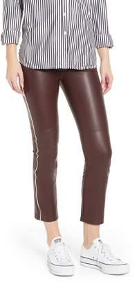 David Lerner Gemma Faux Leather Skimmer Pants