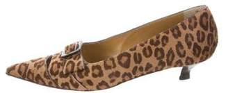 Walter Steiger Animal Print Ponyhair Pumps
