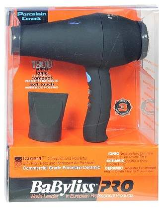Babyliss BaByliss PRO Pro Commercial Grade Porcelain Ceramic Hair Dryer