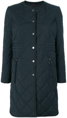 Neil Barrett long quilted jacket