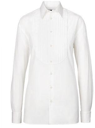 Ralph Lauren Vincent Cotton Tuxedo Shirt $890 thestylecure.com