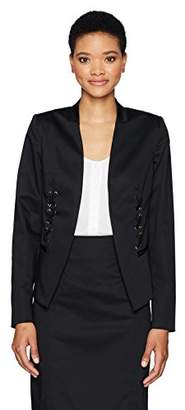 Jones New York Women's Laceup Blazer