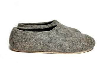 "Felt Forma Eco Friendly Wool House Slippers ""Northern Fox"""