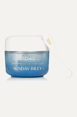 Sunday Riley - Tidal Brightening Enzyme Water Cream, 50ml - Blue $65 thestylecure.com