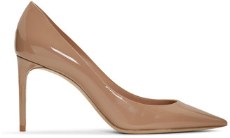 Saint Laurent Pink Patent Zoe Pumps