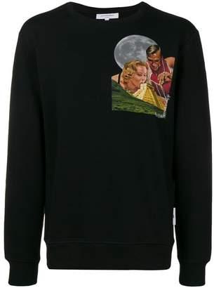 Les Benjamins photo print sweatshirt