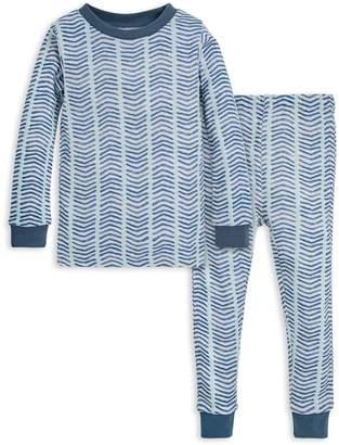 Burt's Bees Baby Watercolor Chevron Organic Pajamas