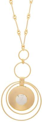 Joelle Gagnard Kharrat - Chapiteau Gold Plated Necklace - Womens - White
