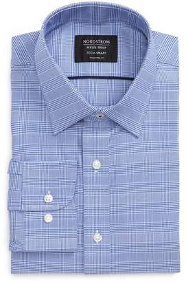 Nordstrom Tech-Smart Traditional Fit Stretch Plaid Dress Shirt