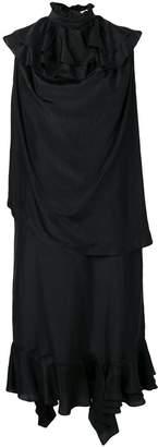 J.W.Anderson ruffle detail long dress