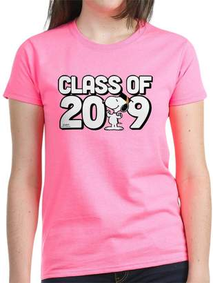 15b6cb424 CafePress - Snoopy Class Of 2019 Women's Dark T-Shirt - Womens Cotton T-