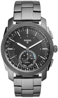 Fossil Q Machine Bracelet Hybrid Smart Watch, 45mm