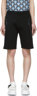 Neil Barrett Black Scuba String Shorts