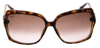 Gucci Bamboo Tinted Sunglasses