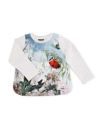 Molo Eline Ladybird T-Shirt, Size 6-24 Months