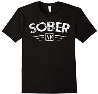 Abercrombie & Fitch FUNNY SOBER T-SHIRT Support Sobriety Cause Gift