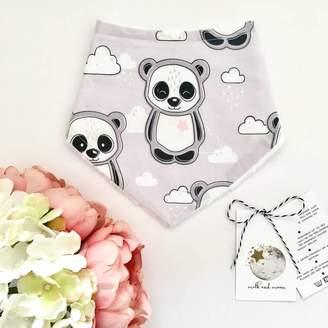 Milk and Moon Panda And Cloud Dribble Bib