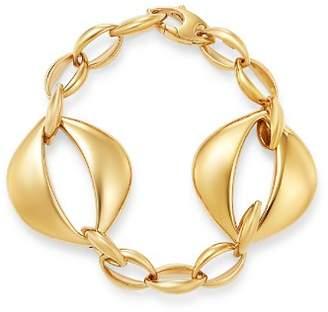 Bloomingdale's Oval Interlock Bracelet in 14K Yellow Gold - 100% Exclusive