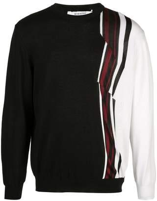 Givenchy stripe detail jumper
