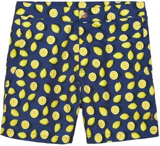 Banana Republic Retromarine | Lemon Print Swim Short