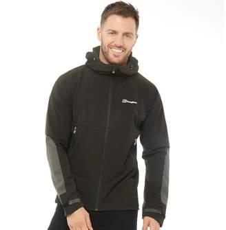 Berghaus Mens Extrem Fast Climb Soft Shell Jacket Black/Black