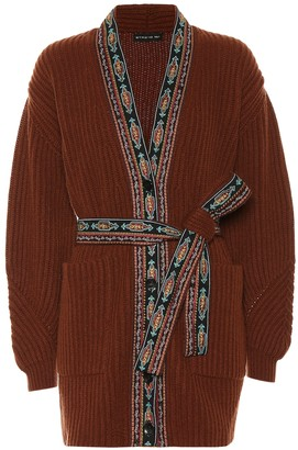 Etro Wool and cashmere-blend cardigan