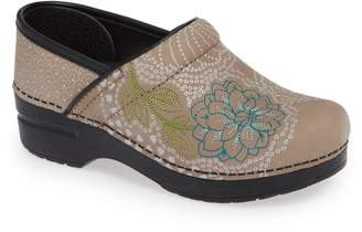 Dansko Embroidered Professional Clog
