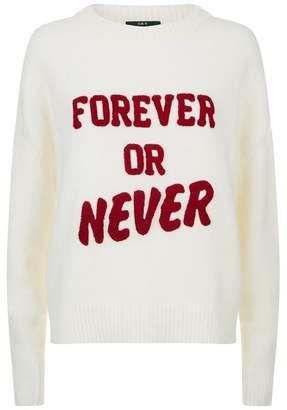 SET Slogan Sweater